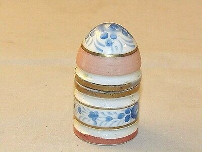 France Made Antique Porcelain  Cigarette Table Lighter  Collectible