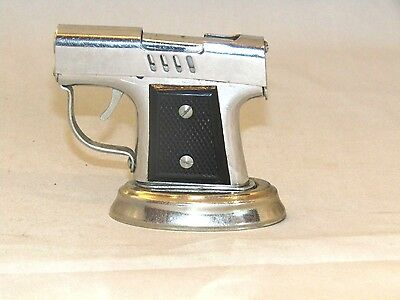 Rare Vintage Pistol Gun Cigarette Lighter   Japan Collcetible