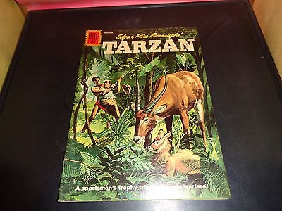 Tarzan #127 1961 Dell Comic Book Silver Age Edgar Rice Burrough's VF Condition