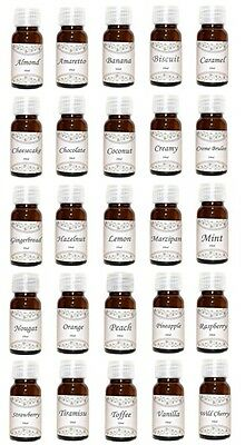 Food Flavourings 10 ml, Various Flavours, Sugar Free, Fat Free, Dukan, Low Carb