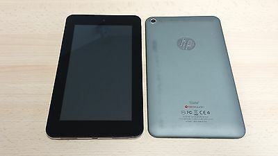 HP SLATE 7 TABLET LCD LED TOUCH Screen DISPLAY DIGITIZER & FRAME BACK BASE COVER