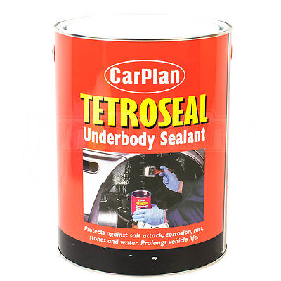 Carplan Tetroseal Underbody Sealant Brushable Protection Against Rust 4.5kg
