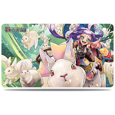 ULTRA PRO - Force of Will: A4, Kaguya Playmat NEW * Gaming Accessories