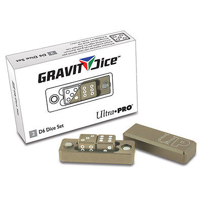 ULTRA PRO Gravity Dice - D6 - Desert NEW * Gaming Accessories