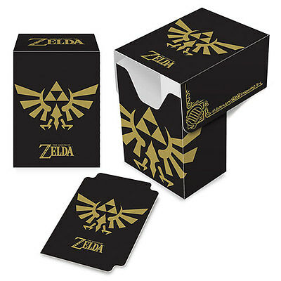 ULTRA PRO - The Legend of Zelda: Black & Gold Full-View Deck Box NEW