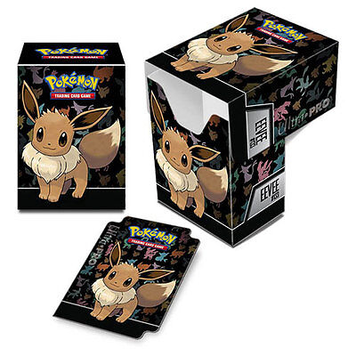 ULTRA PRO - Pokémon - Eevee Full-View Deck Box NEW Gaming Trading Cards Storage