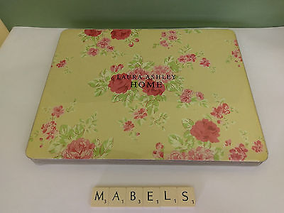 LAURA ASHLEY ~MINTERN~ placemats x 4