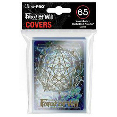 ULTRA PRO Force of Will Gold Magic Circle Deck Protector Sleeve Cover 65ct NEW