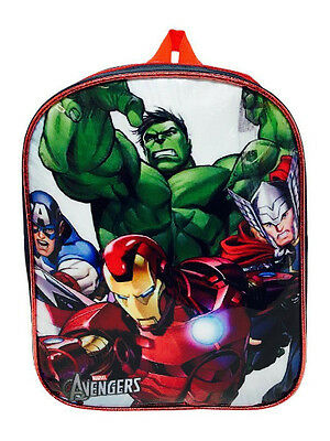 Kids Girls Boys Marvel Avengers School Bag Backpack Rucksack Children Travel