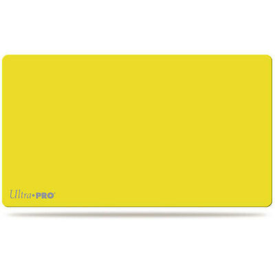 ULTRA PRO - Play Mat – Artists Gallery - Yellow NEW * Gaming Accessories