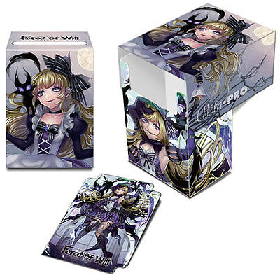 ULTRA PRO Force of Will: A2 Dark Alice Full-View Deck Box NEW