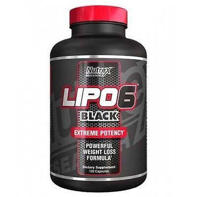 Nutrex Research Lipo 6 Black 120 capsulas
