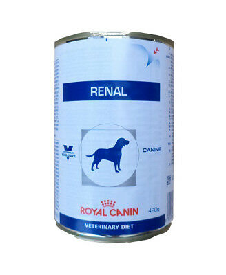 12x410g Royal Canin Renal Veterinary Diet Nassfutter Hundefutter Dose