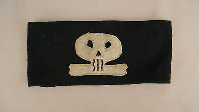 Original Ww1 German Frei Corps Armband, Very Nice Condition