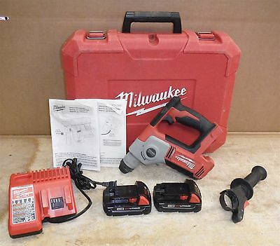 Milwaukee 2612-20 Rotary Hammer Drill Cordless M18 FREE SHIP bundle rack