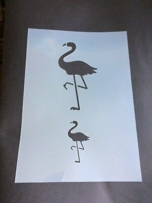Flamingo Mylar Reusable Stencil Airbrush Painting Art Craft DIY Home Decor