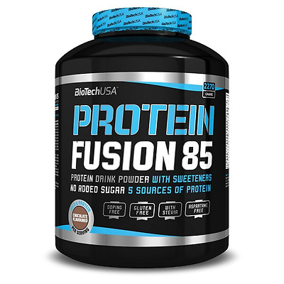 Protein Fusion 85 - 2270 g - Biotech USA - arome vanille