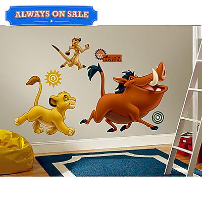 RoomMates The Lion King Peel Stick Giant Wall Decals Kids Toddler Room Decor