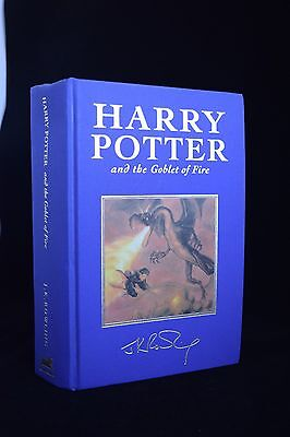 Harry Potter and the Goblet of Fire DELUXE Hardback FIRST EDITION 2000 Rowling