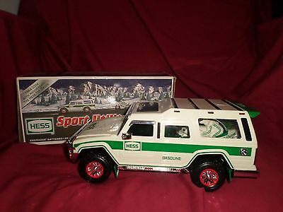 Hess SUV Sport Utility Vehicle and Motorcycles 2004 Hess Toy Truck MIB
