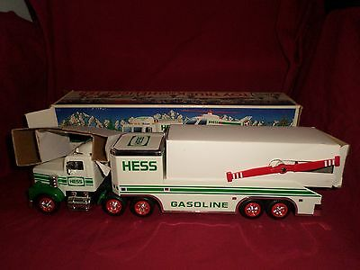 1995 Hess Truck with Helicopter MIB