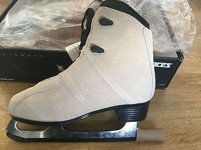 Roces Upbeat Ice Skates size 4 New