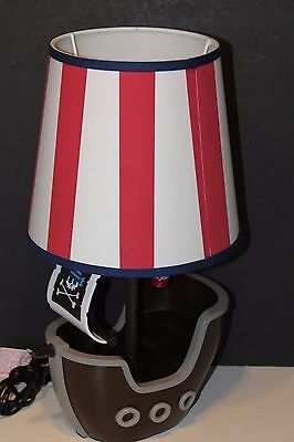 Circo Kids Pirate Ship Table Lamp With Shade