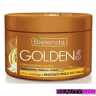 BIELENDA Golden Oils Ultra Moisturizing Bronzing Body Butter 200ml BN065
