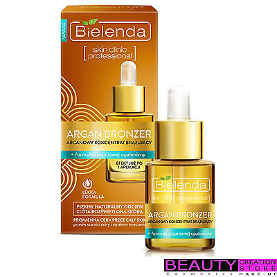 BIELENDA Argan Bronzer Bronzing Argan Concentrate 15ml BN064