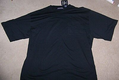 NWT Men's Lawton Harbor Black Short Sleeve Pocket T-shirt Size XL