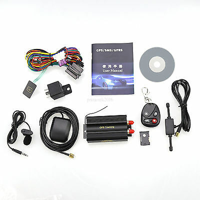 Car Vehicle Spy SMS/GPS/GSM/GPRS Tracker Tracking Realtime System Replacement