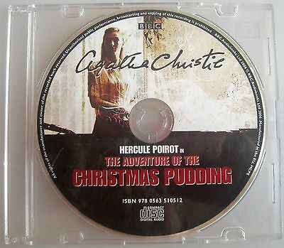THE ADVENTURES OF THE CHRISTMAS PUDDING by AGATHA CHRISTIE 1 CD AUDIO BOOK