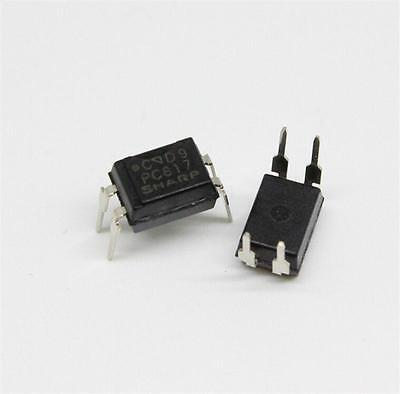 10pcs PC817 PC817C EL817 817 Optocoupler SHARP DIP-4 New High Quality TOCA