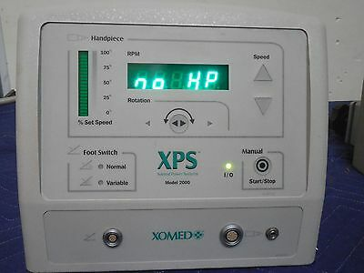Xomed XPS 2000 MicroSector Power Supply Console