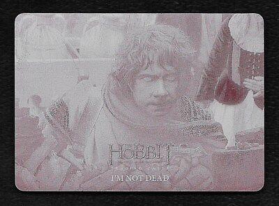 The Hobbit The Battle of the Five Armies Magenta Printing Plate #86 I'm Not Dead