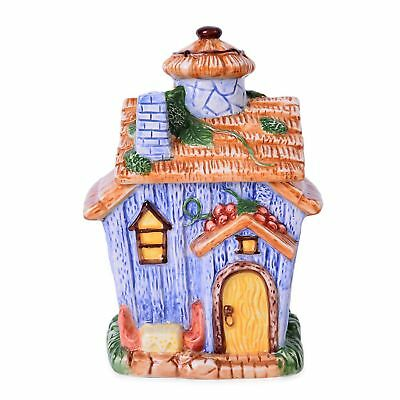 Home Decor Ceramic House Cookie Jar 8.2x4.9x5.5 in