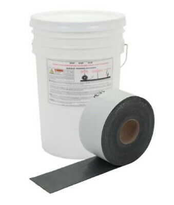 "4"" CRACK FILLER PEEL, STICK AND HEAT, 4"" x 50' QUICKJOINT"
