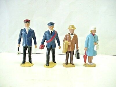 LGB (Lehmann - Gross - Bahn) G Gauge Set of 4 Early Style Model Train Figures