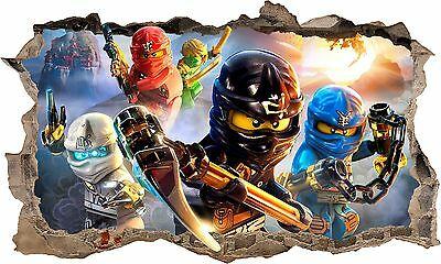 Lego Ninjago 3D Wall Sticker