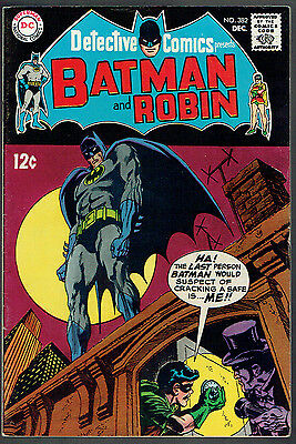 DETECTIVE COMICS  382  FN/VF/7.0  -  Riddle of the Robbin' Robin!