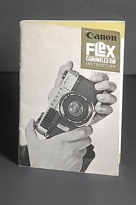 Canon Canonflex RM Camera Instruction Book / Manual / User Guide
