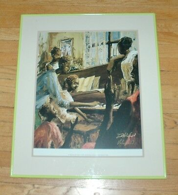 In The Key Of Family Framed & Matted Print, John HolyField Hand Signed 22 x 26