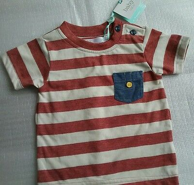 M&Co BABY,  Baby Boys T-Shirt Top.  NEW WITH TAGS.  Age 6-9 months