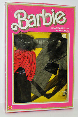 Haute Couture Collection Barbie #9150 nrfb with sticker, 1984 fashion