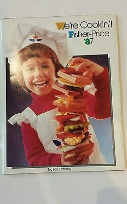 Fisher Price Toy Catalog We're Cookin'! 1987