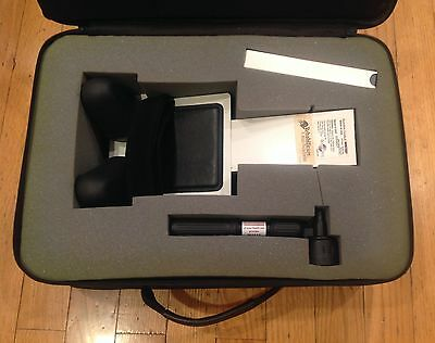 SAUNDERS CERVICAL HOMETRAC Neck Traction w/Case Video Manual WORKS GREAT!