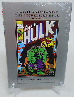 The Incredible Hulk Volume 6 Marvel Masterworks HC Hard Cover New Sealed 122 123