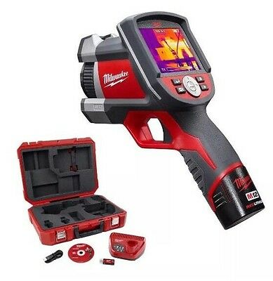 Brand-New Milwaukee M12-2260-21  12-Volt 160x120-Pixels Thermal Imaging Kit.