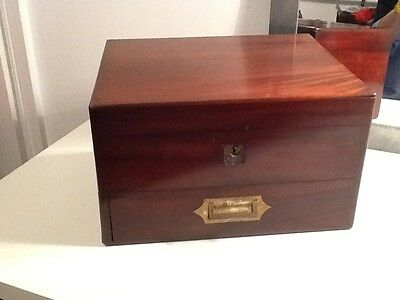 James Epps of London Late Georgian/Early Victorian Homeopathic Dispensary Box