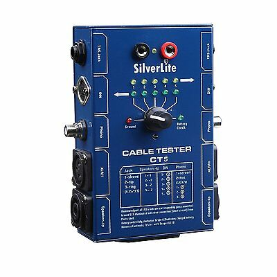Silverlite 10 Plug Audio Cable Tester
